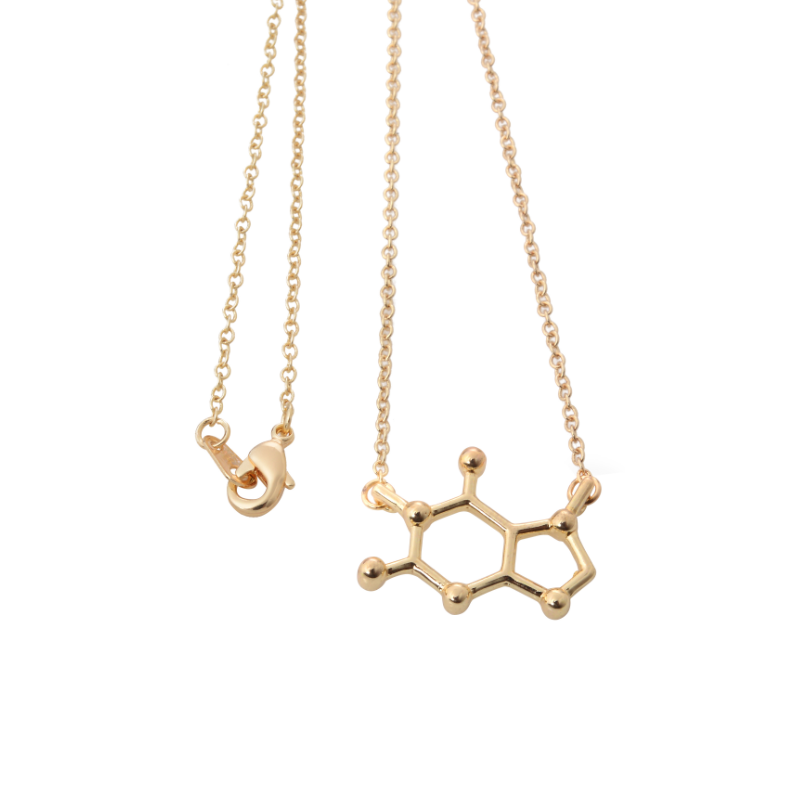 New Molecule Model Necklace latest gold chain designs 2013 dubai new gold chain design
