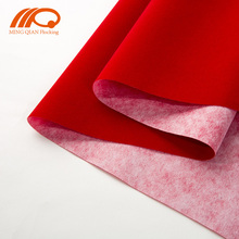 China flock viscose polyester nonwoven spunlace fabric