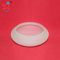 glass circular fluorescent ceiling light cover