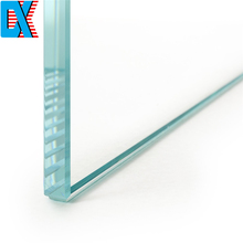 8mm Thick Clear Density Toughened Glass