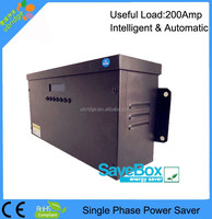 Single phase Intelligent Power Saver / Intelligent Power Saver / Electricity Saving Device