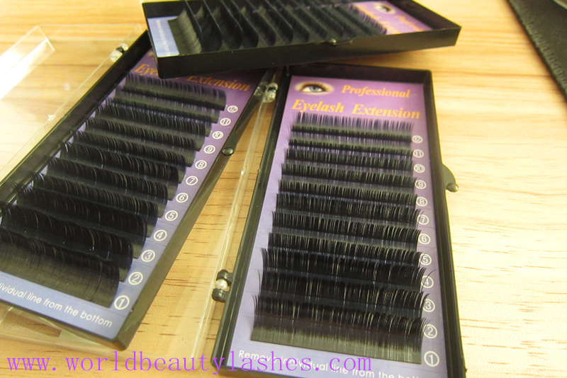 thin and soft elliptical flat eyelash extensions wholesale price cashmere volume lashes