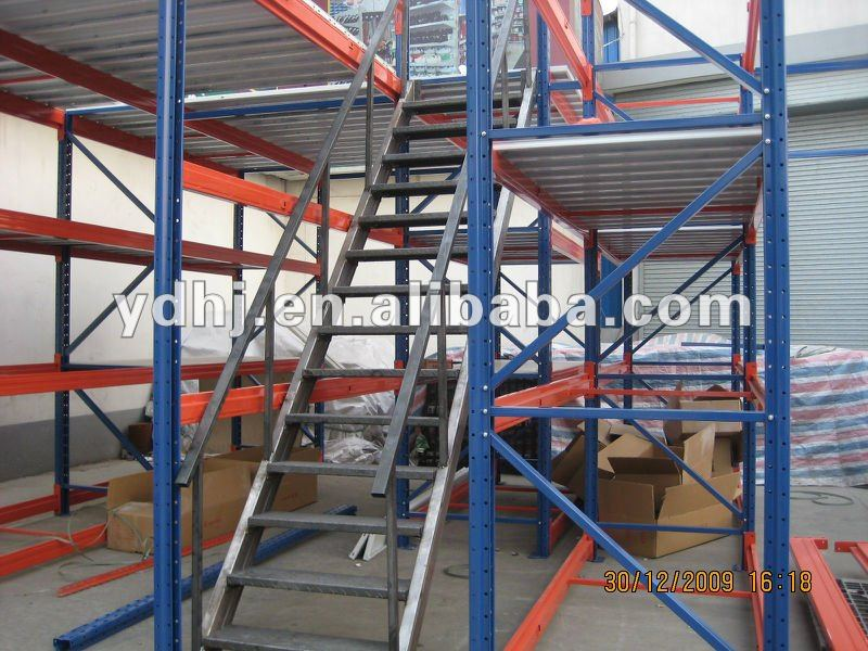 High Capacity with Competitive Price Warehouse Storage Multi-level Mezzanine Racking for Warehouse Storage YD-080