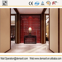 Quality Assured Colored landscaping decorative glass blocks