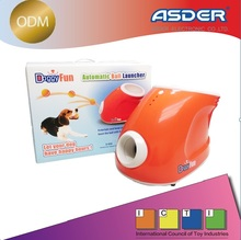 Automatic electronic dog toy ball thrower launcher