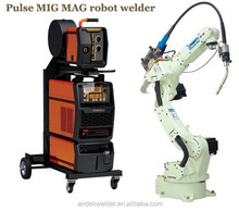 Robot welding machine double pulse MIG MAG multi-function aluminium MIG welder robotic welding machine