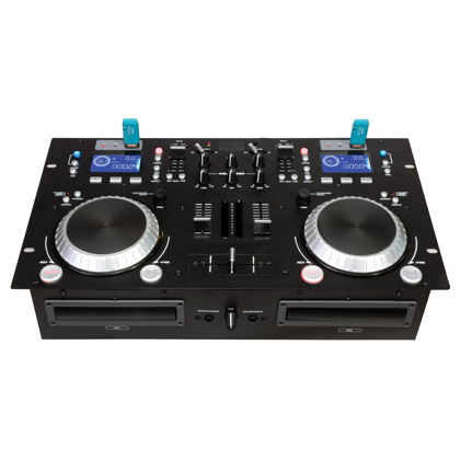 dj cd player with USB and Bluetooth, dual cd player with mixer
