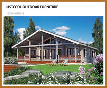 Good price outdoor tree wooden prefab house in China