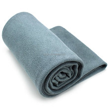 Custom wholesale personalized soft quick dry non-slip microfiber hot gym yoga towels with carry bag