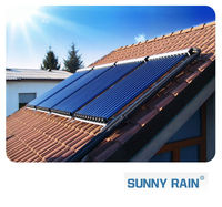 Sunnyrain High Quality Heat Pipe Solar Collector,vacuum solar collector china