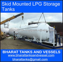 Skid Mounted LPG Storage Tanks