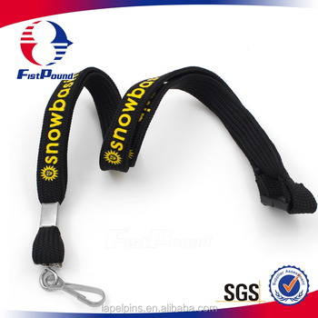 Custom polyester printing neck lanyard for china wholesale