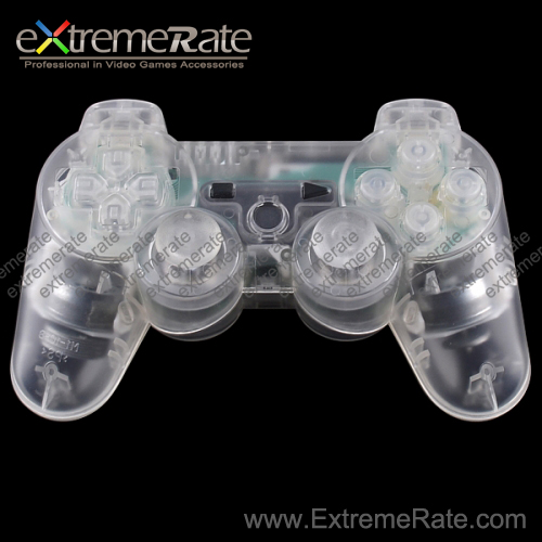 For PS3 Controller Clear Shell - Transparent