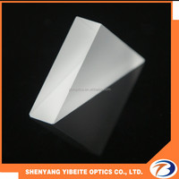 polished right angle triangular optical prism,polished glass