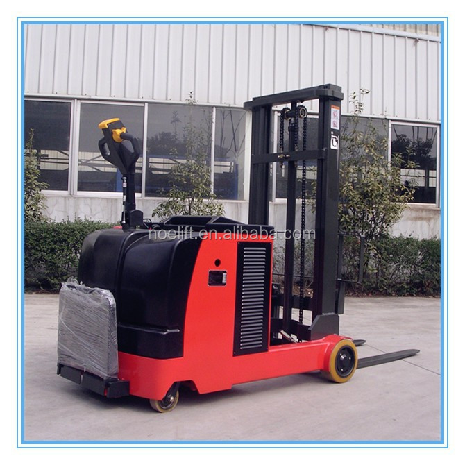 power reach forklift electric reach truck with Shock absorbing pedal