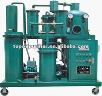 High Efficient Waste Hydraulic Oil Dehydration Plant/Black Engine Oil Purifying Device/Lube Oil Drying Unit