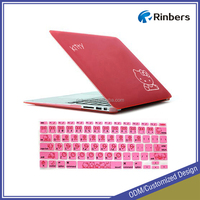 For Hello Kitty Print Hard Shell Protective Case for MacBook Por 15 Inch A1286 Keyboard Cover