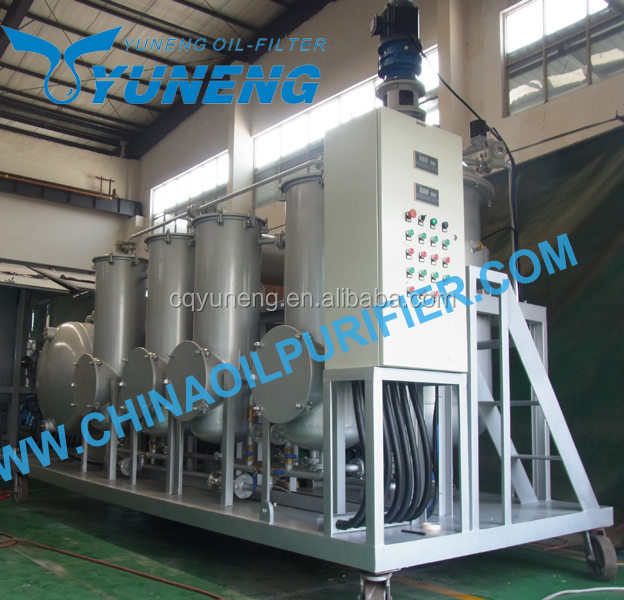Waste Tyre Pyrolysis Oil Refining Machine to Bleaching Tire Oil