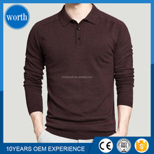 good looking full sleeve cotton polo shirts for mens slim fit