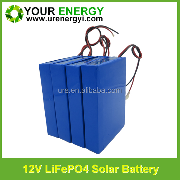 perfect high and low temperature working performance 12v 7000mah li-ion battery lifepo4 solar battery 12v