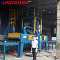 steel plate shot blast cleaning machine for sale
