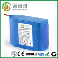 12V 20Ah lithium ion battery for dewalt