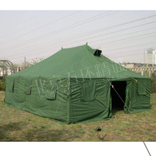 Family winter canvas tent