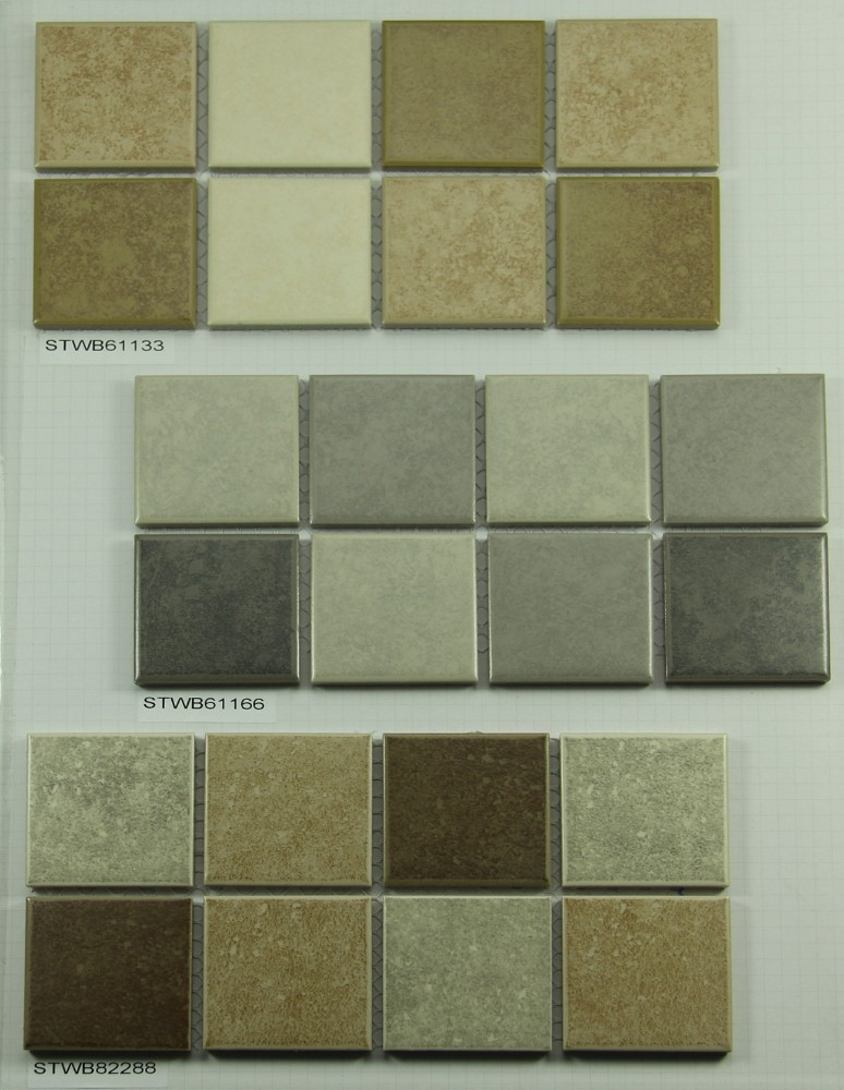 kitchen splash backs tile porcelain mosaic with color mix