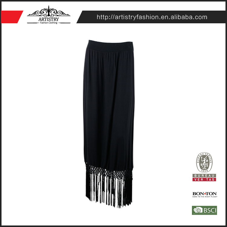New Fashionable Custom Trendy Indian Straight Long Over skirts