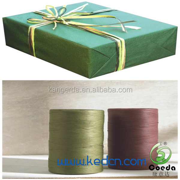 colorful paper rope paper raphia