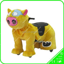 DNL Great Mechanical Plush Ride on Pig Toys