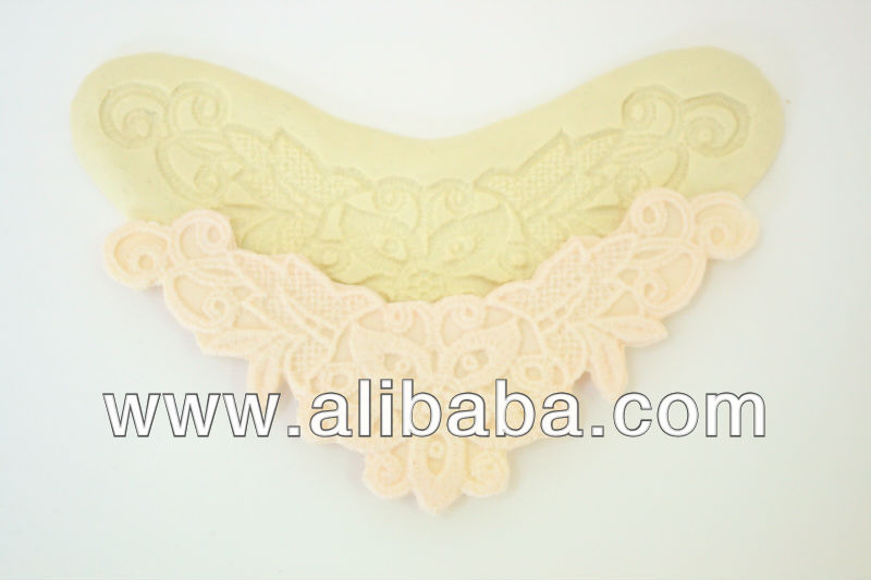 Sugarcraft silicone mold Lace mould #0007