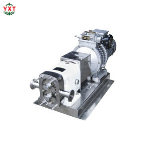 chocolate rotary lobe pump for candy machinery