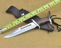 Hunting Small Fixed Blade Survival Style Rambo 2 Rambo Knife Sheath