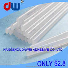 Crystal hot melt heated glue diy 11mm adhesive glue sticks