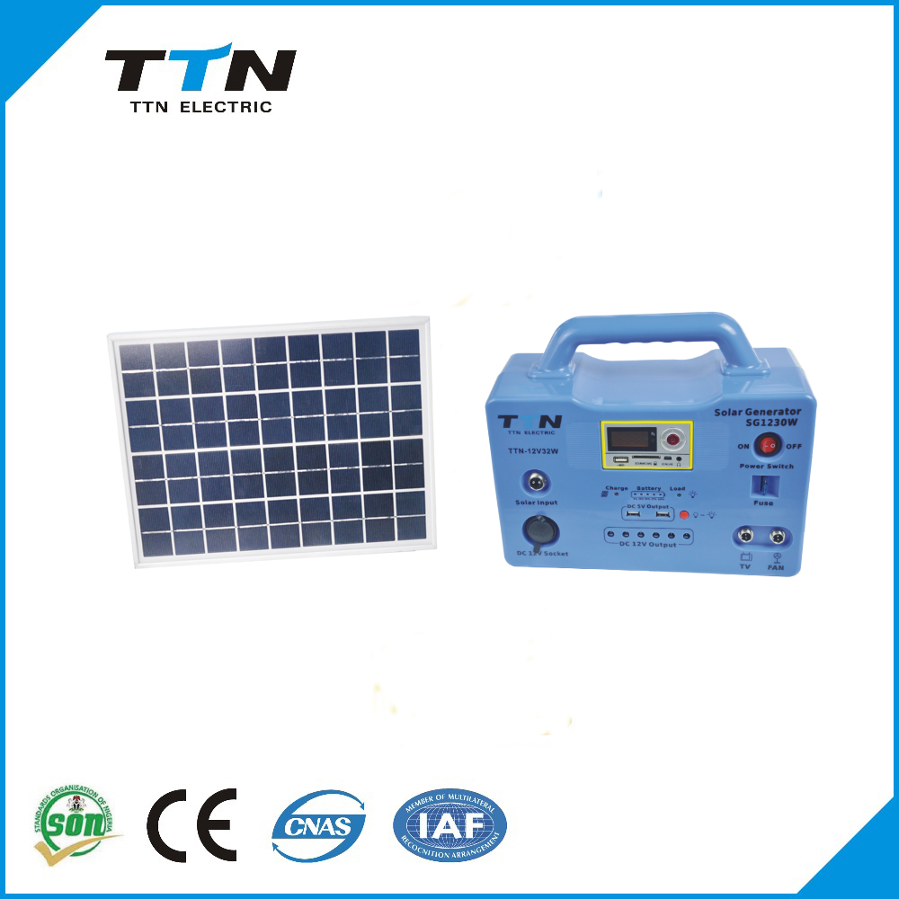 TTN-SG1230W Hot sale For Home use Off-grid 30W Solar <strong>Energy</strong> And Solar Cells
