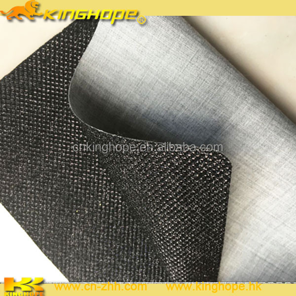 Wholesale manufacturer leather products cheap glitter pvc leather pu leather