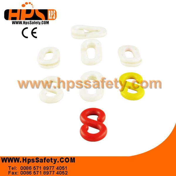Good Tension Grade Plastic Roller Chain Link For Street Warning Zone