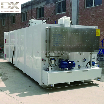Fast drying way high frequency vacuum timber dryer kiln from DXHF
