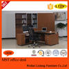 Latest Designs L-Shaped Morden Wooden Office Table