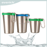Easy Carry Double Wall Stainless Steel Copper Beer Mug For Beer