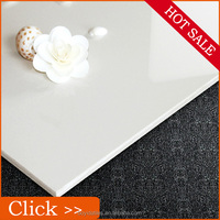 China Super White Shiny Porcelain Floor Tiles With Cheap Price and AAA Grade Quality