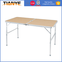 portable bbq folding picnic adjustable height dining aluminum camping best camp table