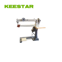 Keestar 411N single needle lockstitch used cylinder bed long arm leather sewing machine