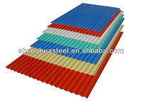 Factory Direct Sale Colorful Steel Roof Tile