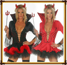 Halloween sexy costume devil stage performance clothing