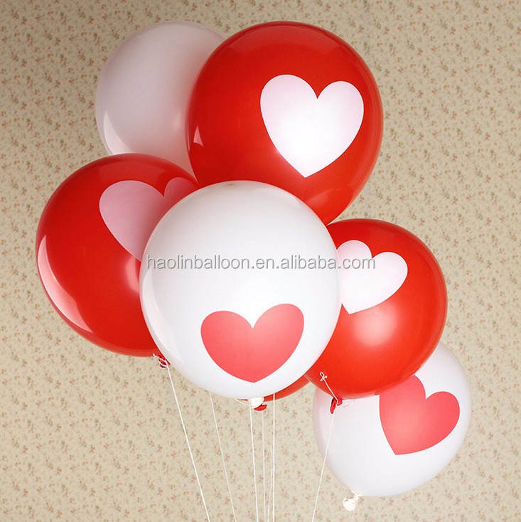 hot sales 10 inch printed promotional latex balloon