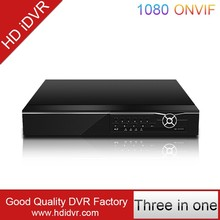 H.264 16ch full hd 1080 cctv real-time audio and 16 alarm hybrid dvr