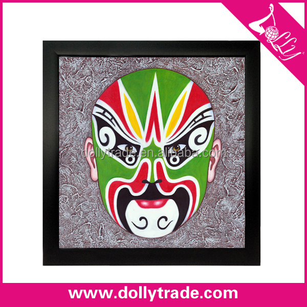 Newest Opera Facial Masks Decorative Wall Hanging Picture For Decor