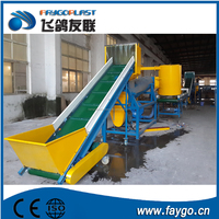 200-380kg/h pp pe film washing line for Export